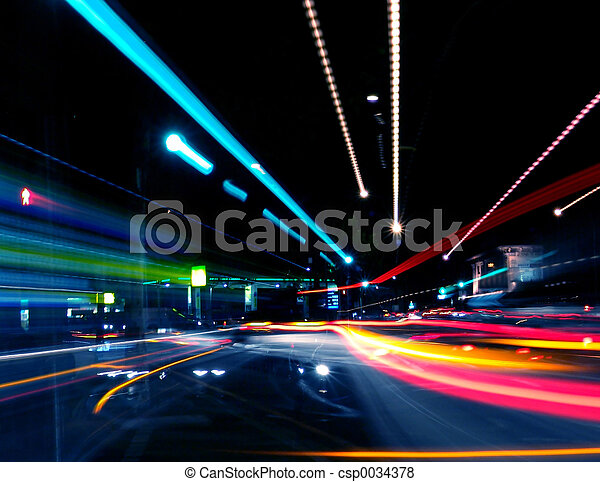 abstraktní, ulice - csp0034378