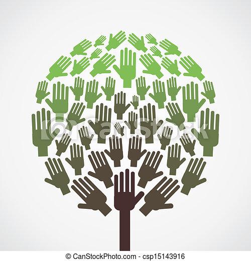 abstratos, árvore - csp15143916