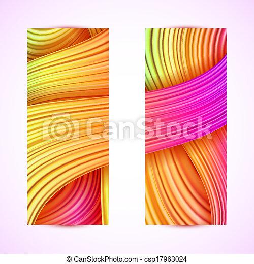 abstratos, bandeiras - csp17963024