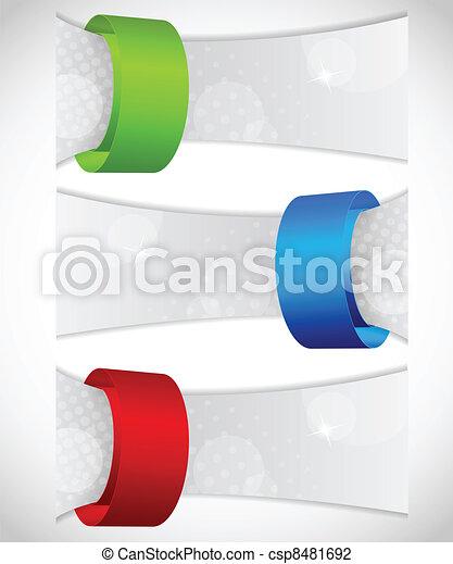 abstratos, bandeiras - csp8481692