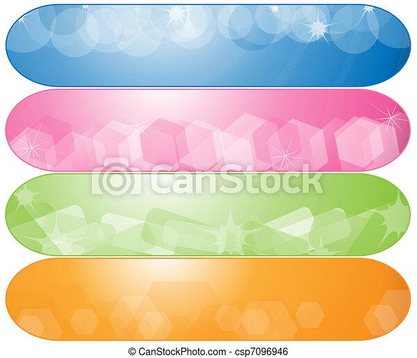 abstratos, bandeiras - csp7096946