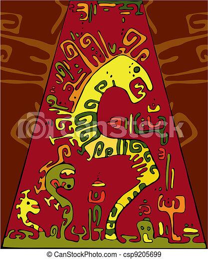 abstratos, cobra, fundo - csp9205699