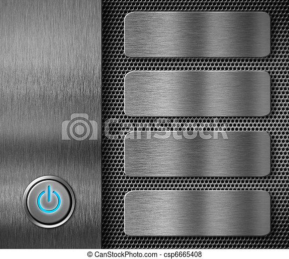 abstratos, computador, fundo - csp6665408