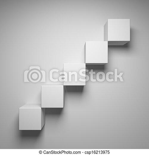 abstratos, cubos - csp16213975