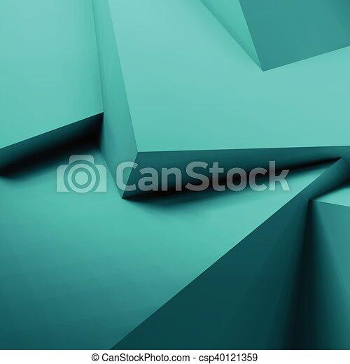 abstratos, cubos, fundo, sobrepondo, geomã©´ricas - csp40121359