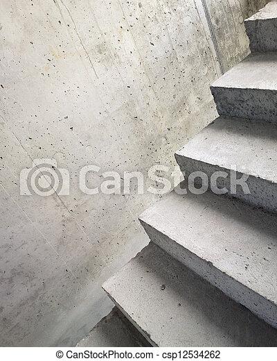 abstratos, escadas - csp12534262
