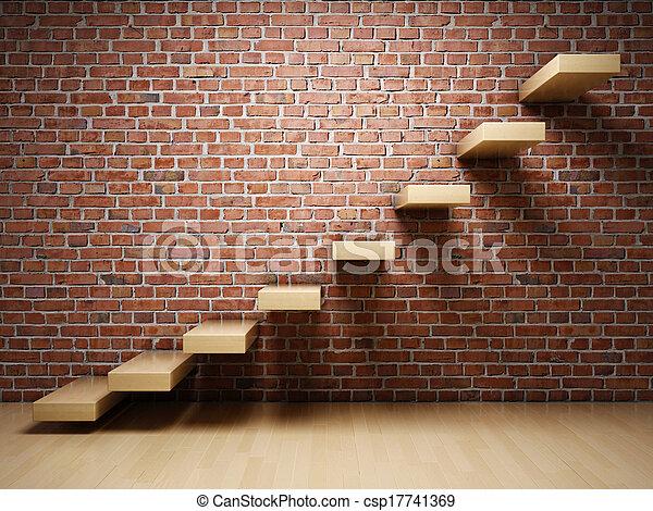 abstratos, escadas - csp17741369