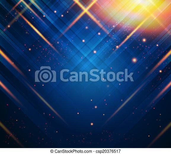 abstratos, experiência listrada, image., vetorial, luz, effects. - csp20376517