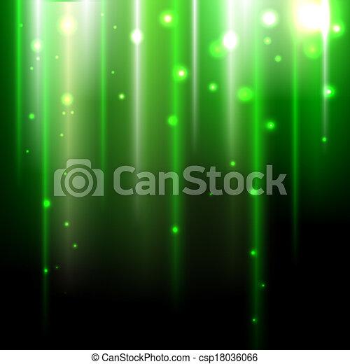 abstratos, experiência verde - csp18036066