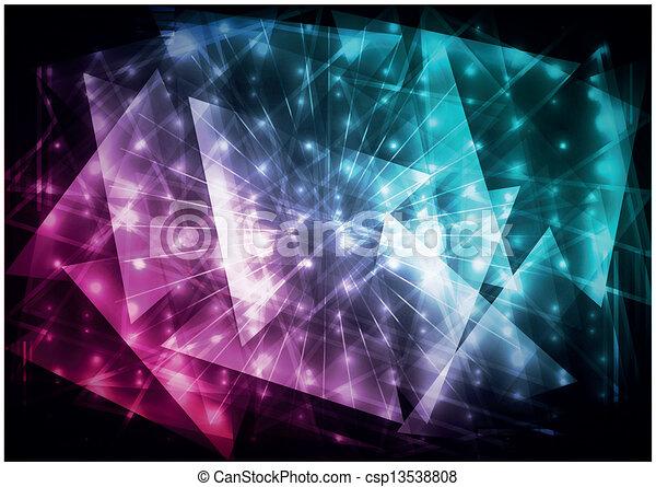 abstratos, fundo, digital - csp13538808
