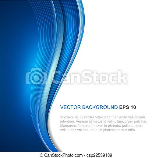 abstratos, vetorial, fundo - csp22539139