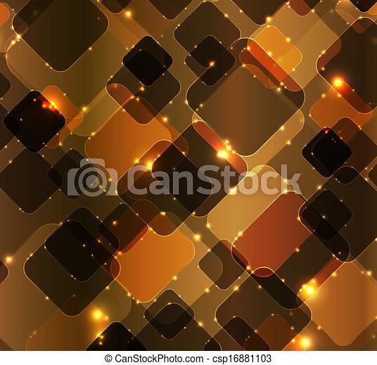 abstratos, vetorial, tecnologia, fundo, ilustração - csp16881103