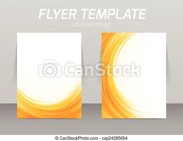 abstratos, voador, desenho, modelo - csp24285654