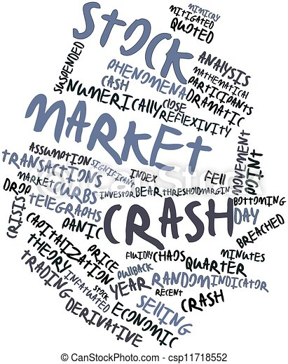 absturz, markt, bestand - csp11718552