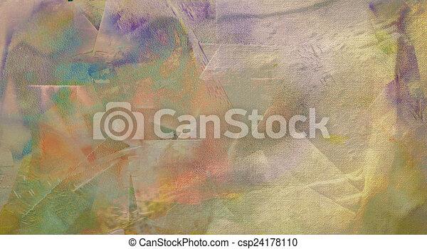 absztrakt festészet - csp24178110