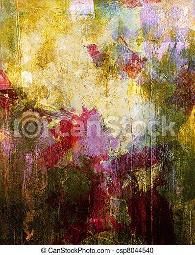 absztrakt festészet - csp8044540