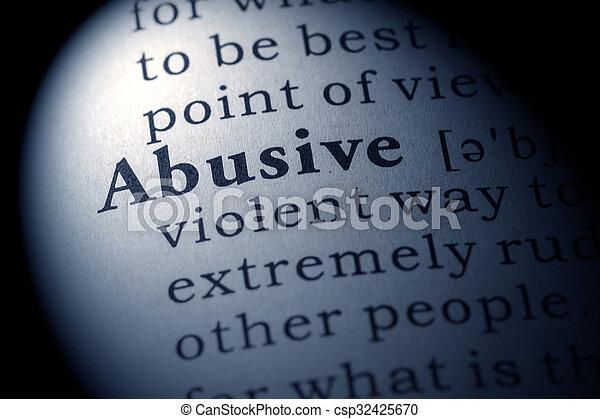 abusive - csp32425670