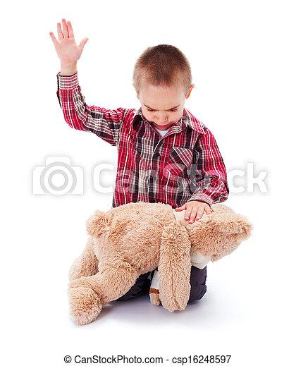 abuso, doméstico - csp16248597