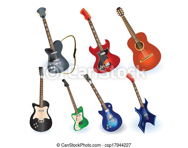 Acústico Conjunto Guitarras Eléctricas