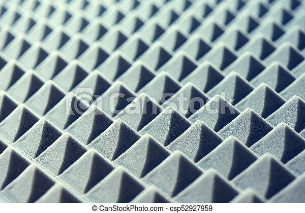 acústico, espuma, fundo, painel - csp52927959