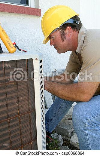 AC Repairman - csp0068864