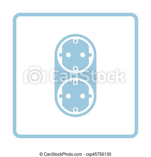 AC splitter icon - csp45756130