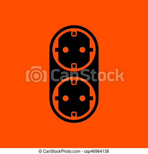 AC splitter icon - csp46964138