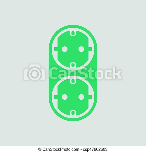 AC splitter icon - csp47602603