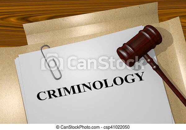 Criminología, concepto académico - csp41022050