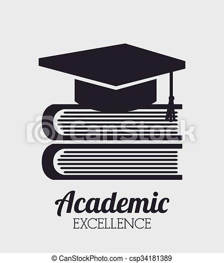 academic excellence design  - csp34181389