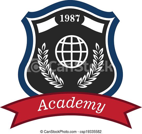 Academy emblem - csp19335582