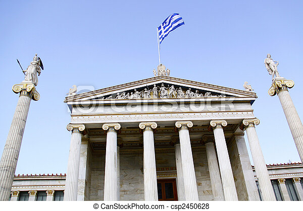 Academy of Athens - csp2450628