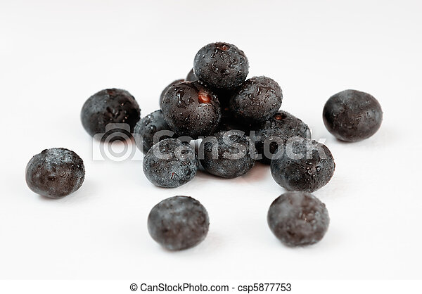 Acai Fruit Berries  - csp5877753