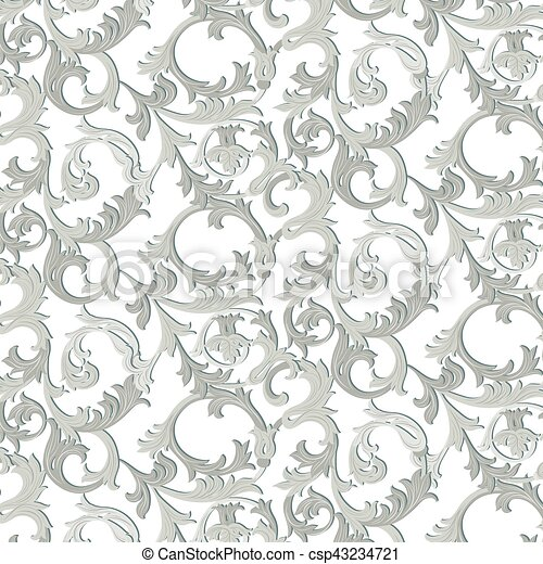 acanthus leaf ornament pattern acanthus leaf ornament element pattern vector illustration https www canstockphoto com acanthus leaf ornament pattern 43234721 html