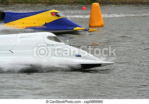 accélérez bateau - csp0889990