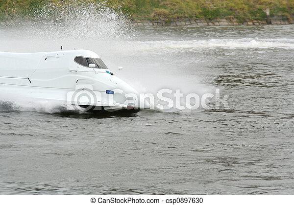 accélérez bateau - csp0897630