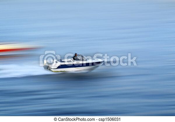 accélérez bateau - csp1506031