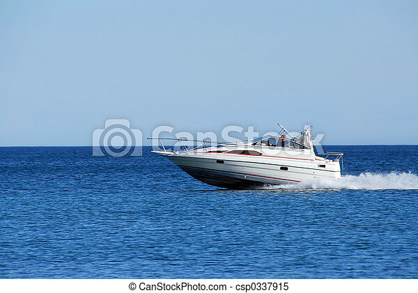 accélérez bateau - csp0337915