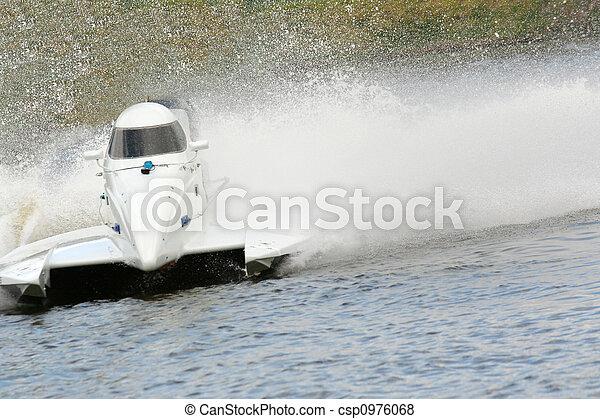 accélérez bateau - csp0976068