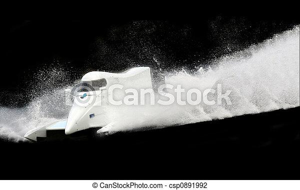 accélérez bateau - csp0891992