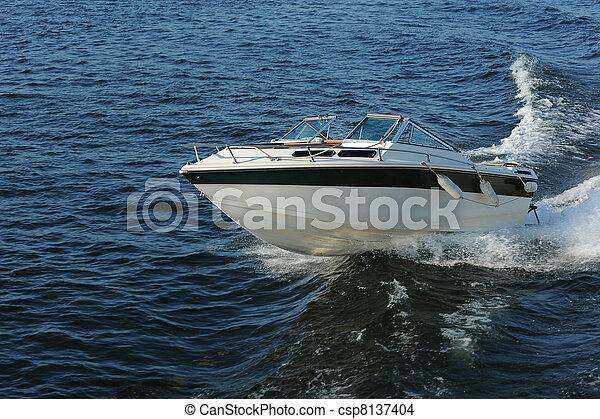 accélérez bateau - csp8137404