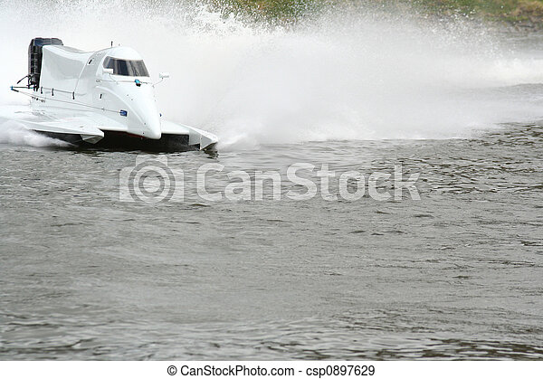 accélérez bateau - csp0897629