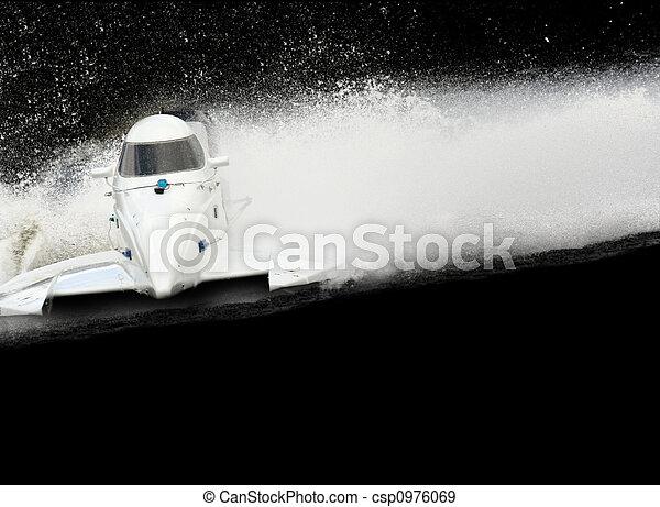 accélérez bateau - csp0976069