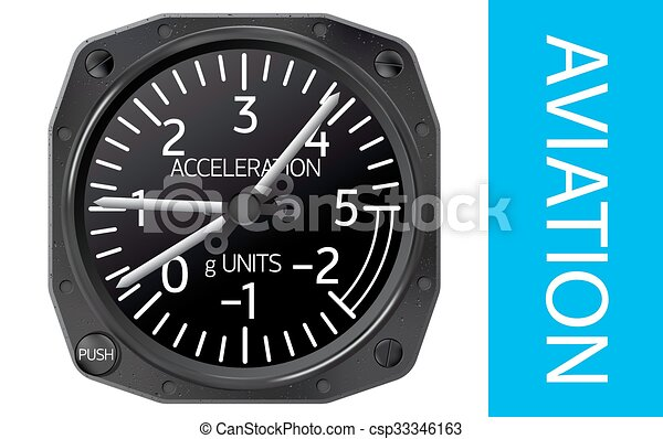 Accelerometer vector illustration - csp33346163