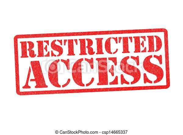 Acceso restringido acceso estampilla restringido encima caucho acceso restringido csp14665337 altavistaventures Gallery