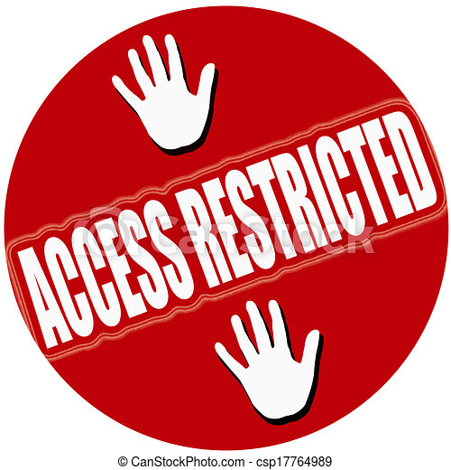 Acceso restringido estampilla texto ilustracin dentro acceso acceso restringido csp17764989 altavistaventures Gallery