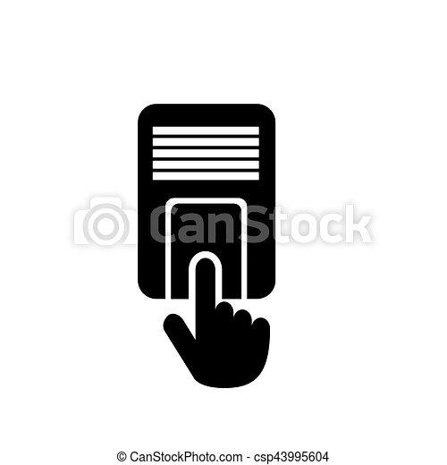 Access Control Icon Stock Illustration Csp43995604