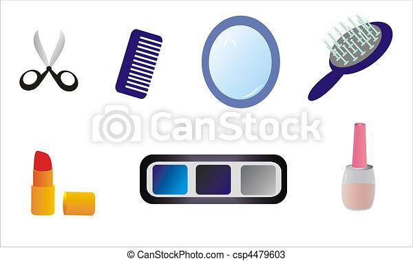 accessoires, coiffeur , csp4479603