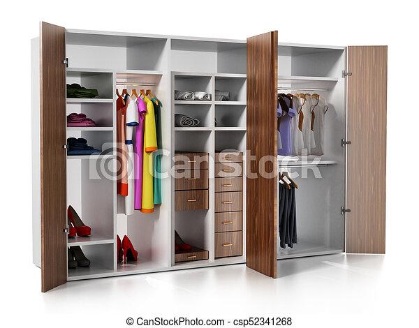 Accessori Per Guardaroba.Accessori Illustrazione Isolato Fondo Guardaroba Bianco Vestiti 3d