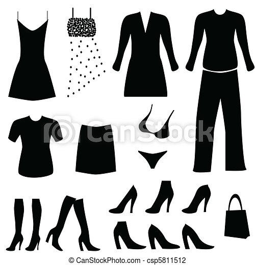 accessori per abbigliamento, femmina - csp5811512
